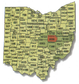 Ohio Deer Outfitters: Location and Map